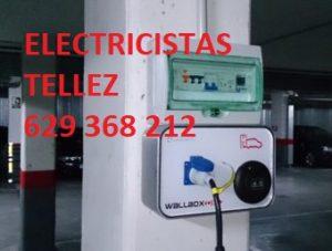 Instalación punto de recarga coche eléctrico Madrid